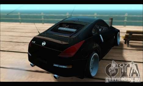 Nissan 350Z Rock для GTA San Andreas вид слева