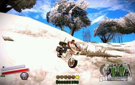 C-HUD v4.0 для GTA San Andreas второй скриншот