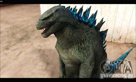 Babyzilla 2014 (Godzilla) для GTA San Andreas