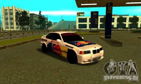 BMW M3 E36 RedBull для GTA San Andreas