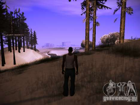 ENB v.14 для GTA San Andreas второй скриншот