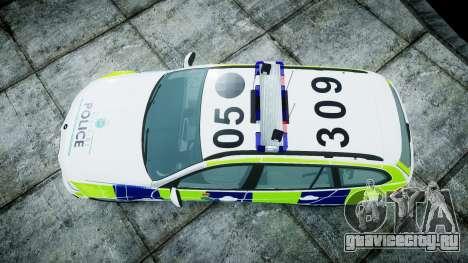BMW 3 Series Touring E91 [ELS] для GTA 4 вид справа