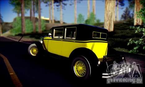 Albany Roosevelt (GTA V) для GTA San Andreas вид изнутри
