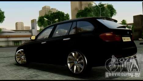 BMW 3 Touring F31 2013 1.0 для GTA San Andreas вид слева