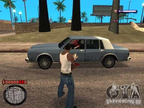 C-HUD Style для GTA San Andreas третий скриншот