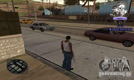 C-HUD Skillet для GTA San Andreas