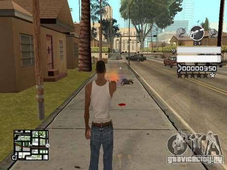 C-HUD Gray для GTA San Andreas третий скриншот