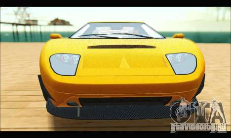 Vapid Bullet Gt (GTA V TBoGT) для GTA San Andreas вид сзади слева