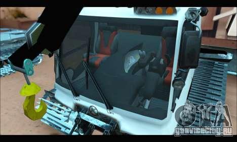 PistenBully 600S для GTA San Andreas вид сзади слева