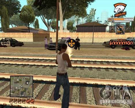 C-HUD Virtus Pro для GTA San Andreas второй скриншот