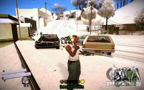C-HUD v4.0 для GTA San Andreas четвёртый скриншот
