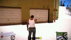 C-HUD v4.0 для GTA San Andreas