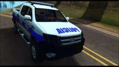 Ford Ranger P.B.A 2015 Text2 для GTA San Andreas