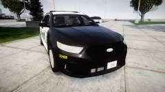 Ford Taurus 2014 Sheriff [ELS] для GTA 4