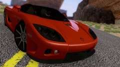 Koenigsegg CCX 2006 Road Version для GTA San Andreas