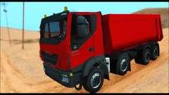Iveco Trakker 2014 Tipper (IVF & ADD) для GTA San Andreas