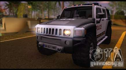 Hummer H3 Police для GTA San Andreas