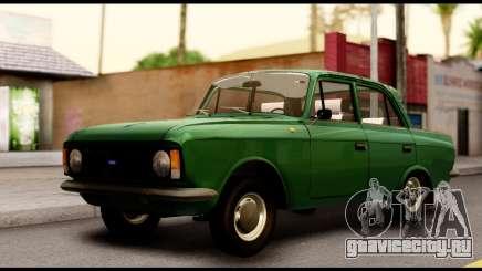 Москвич 412 Зеленая Классика для GTA San Andreas