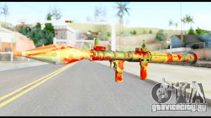 Rocket Launcher with Blood для GTA San Andreas