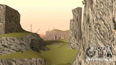 Озеленение пустыни для GTA San Andreas четвёртый скриншот