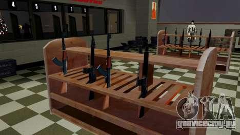 3D модели оружия в Ammu-nation для GTA San Andreas второй скриншот