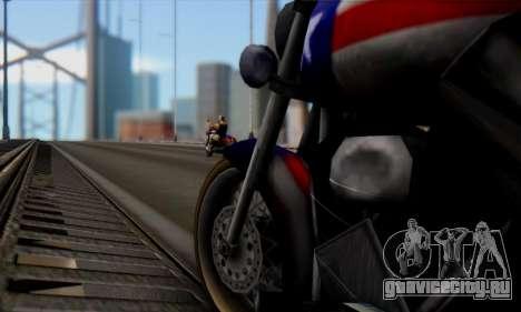 Freeway from GTA Vice City для GTA San Andreas вид справа