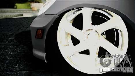 Honda Civic 2005 VTEC для GTA San Andreas вид сзади слева
