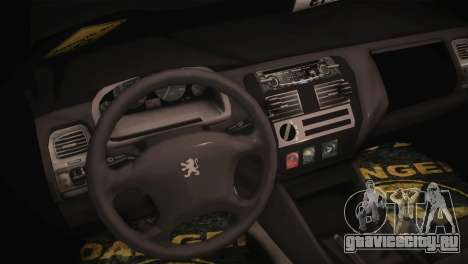 Peugeot 106 GTI F Tuning для GTA San Andreas вид справа