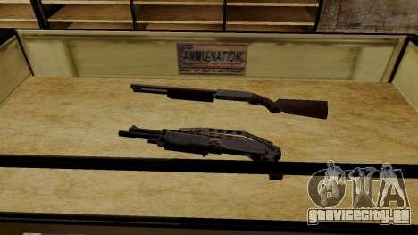 3D модели оружия в Ammu-nation для GTA San Andreas шестой скриншот