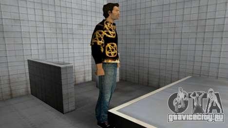 Pentagram Shirt для GTA Vice City четвёртый скриншот