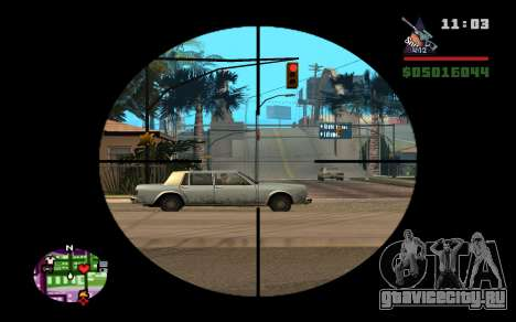 AWP Dragon Lore CS:GO для GTA San Andreas третий скриншот