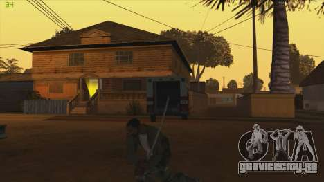 Katana from Killingfloor для GTA San Andreas третий скриншот