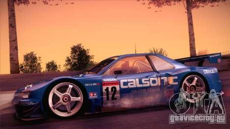 Nissan Skyline GTR-34 2003 для GTA San Andreas вид сзади слева
