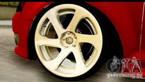 Audi S3 2007 Camber Edit для GTA San Andreas вид сзади слева