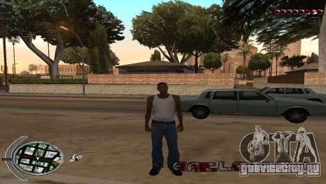 С-HUD Terror для GTA San Andreas второй скриншот