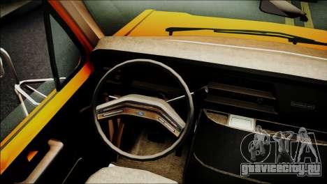Ford E-150 Bus для GTA San Andreas вид справа