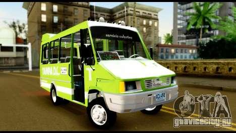 Iveco Minibus для GTA San Andreas