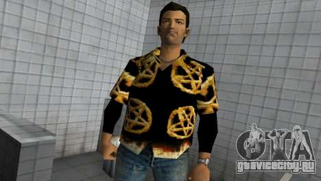 Pentagram Shirt для GTA Vice City