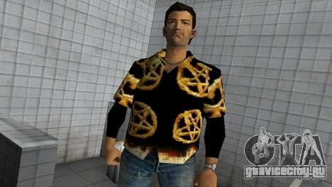 Pentagram Shirt для GTA Vice City второй скриншот