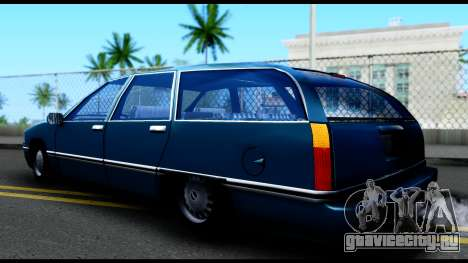 Elegant Station Wagon для GTA San Andreas вид слева