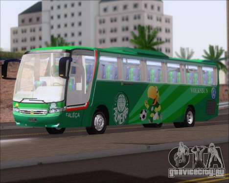 Busscar Vissta Buss LO Palmeiras для GTA San Andreas вид слева