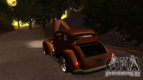 New Hustler для GTA San Andreas вид изнутри