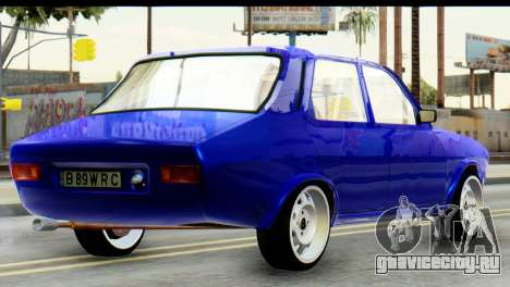 Dacia 1300 B 89 WRC для GTA San Andreas вид слева
