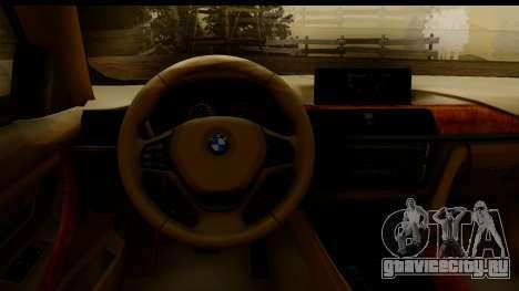 BMW 335i E92 2012 для GTA San Andreas вид справа