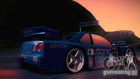 Nissan Skyline GTR-34 2003 для GTA San Andreas