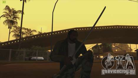Katana from Killingfloor для GTA San Andreas