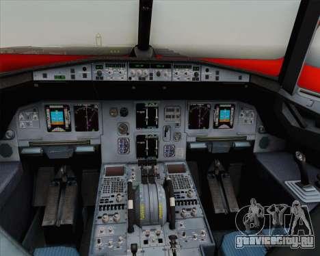 Airbus A320-200 Indonesia AirAsia WOW Livery для GTA San Andreas вид сверху