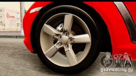 Mazda RX-8 2005 для GTA San Andreas вид сзади слева