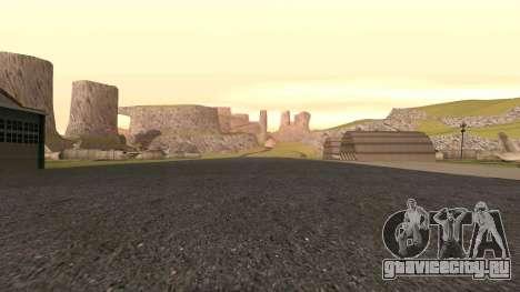 Озеленение пустыни для GTA San Andreas шестой скриншот