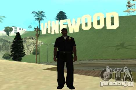 Black Police All для GTA San Andreas пятый скриншот